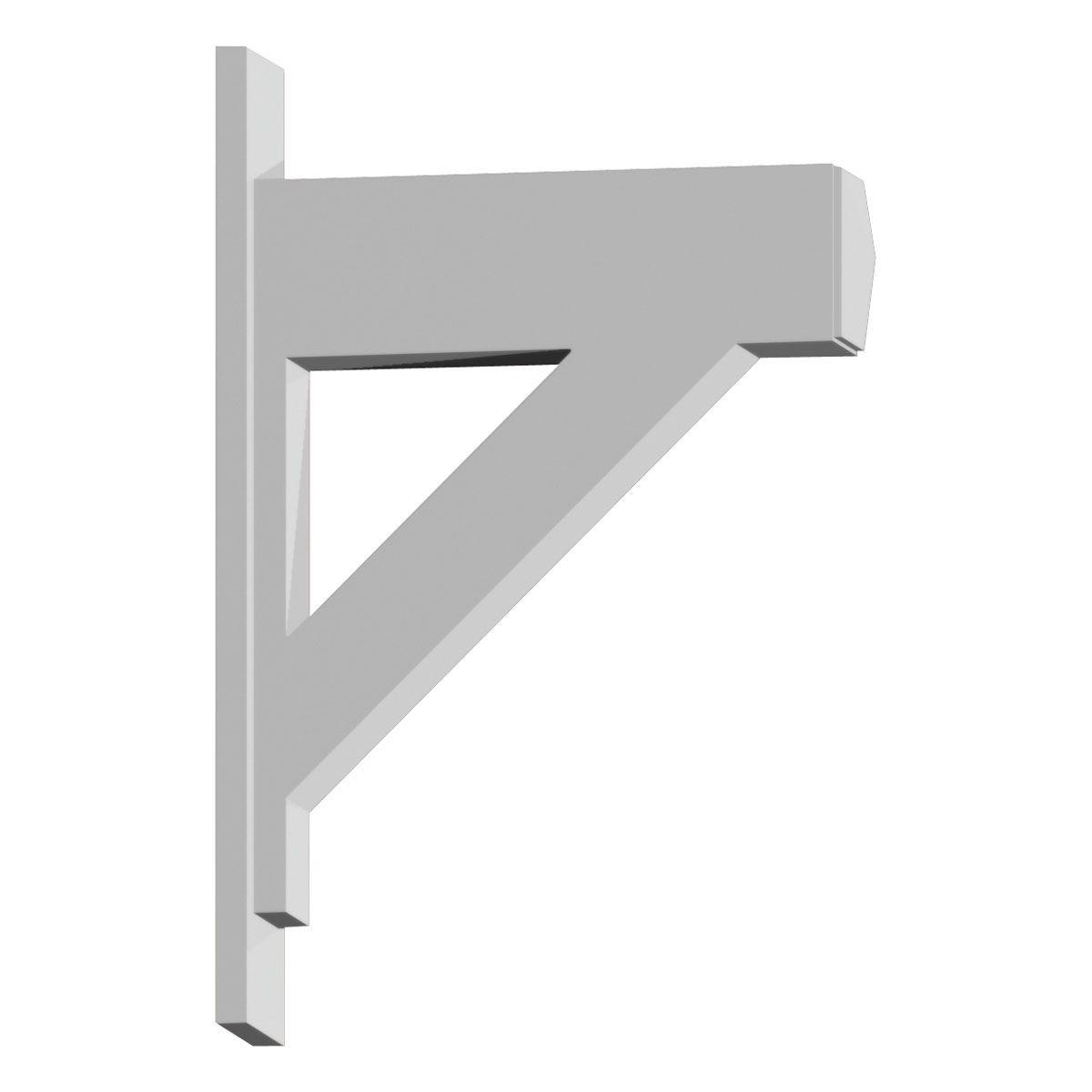 Fypon Decorative Bracket BKT20X30X6
